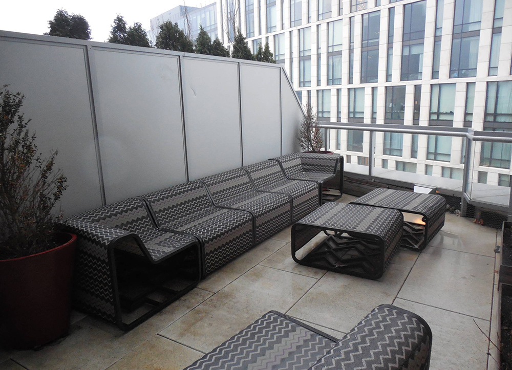roof terrace with panels-1